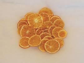 Orangenscheiben, hell, duftend - Bild vergrößern